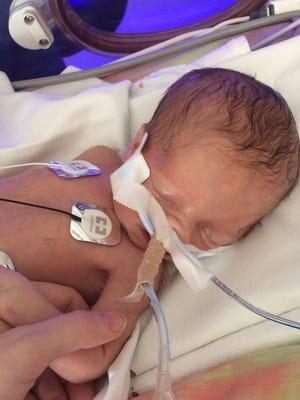 Aleisa Albright gave birth to her daughter, Jordan, the evening of Dec. 14.