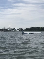 A Cape Coral woman, and a man from Longwood, were unhurt whjn their plane crashed into water near Yankeetown, Florida, north of Tampa.