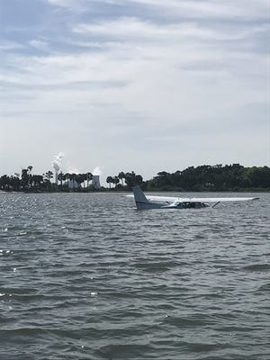 A Cape Coral woman, and a man from Longwood, were unhurt when their plane crashed into water near Yankeetown, Florida, north of Tampa.