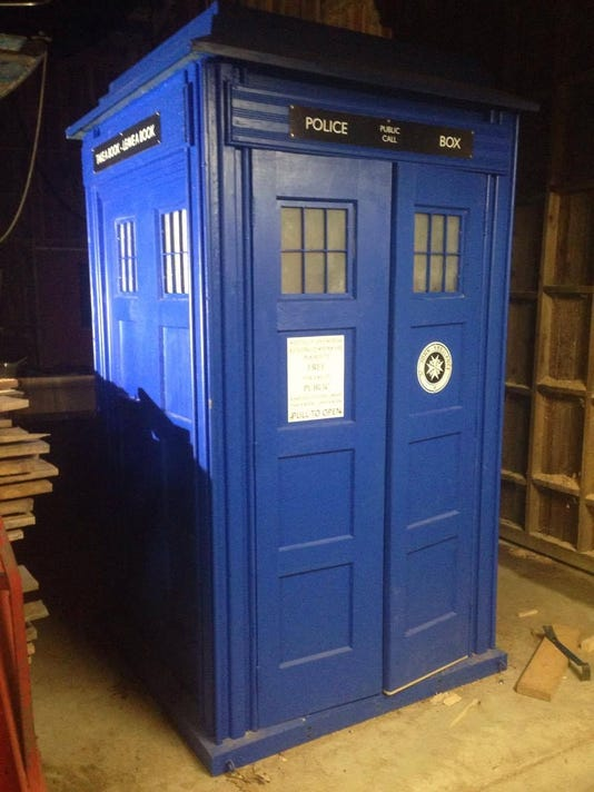 dr who fans detroit to get its own tardis in form of free library
