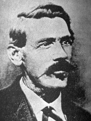 John Simpson Chisum was known as the Cattle King of the Pecos after establishing his ranching empire near Fort Sumner, New Mexico.