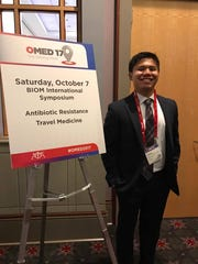 Gabriel Pontipiedra submitted his experience to the Narrative Medicine Essay Competition and won first place in the Narrative Medicine Essay Competition held by the American Osteopathic Association's Bureau of International Osteopathic Medicine.