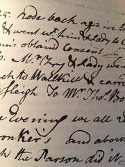 A sample from William Macclure's journal.