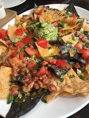 The nacho platter at Yard House at the Palisades Center