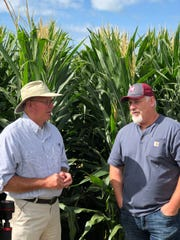 David Hula and Randy Dowdy share their years of experience that led to their numerous national yield honors with participants of their Next Level farm camps.