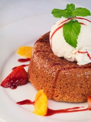 An option for capping your meal is Mastro's Butter Cake.
