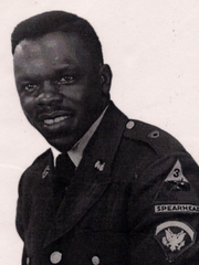Edward Clemons of Pensacola. Clemons died on Feb. 7, 1969. He was in the Army.