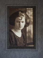 Mildred Lewis in her junior high school years. Lewis will turn 110 years old on Christmas day.