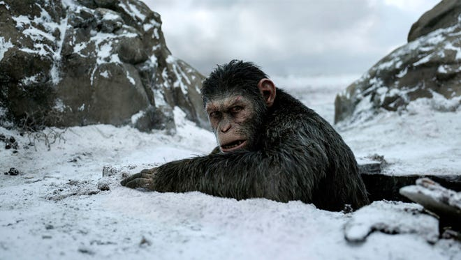"""""""War for the Planet of the Apes"""" is the third """"Apes""""  movie since the reboot of the franchise in 2011."""