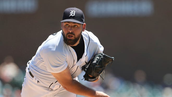Tigers starting pitcher Michael Fulmer was placed on the DL on July 20 with a left oblique strain.