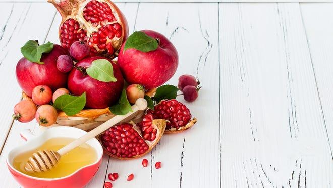 Apple and honey are traditional foods of Jewish New Year, Rosh Hashana.