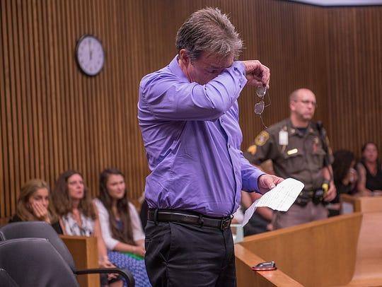 John Strong, grandfather of 19 year old victim Jordan