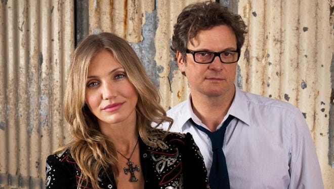 "Colin Firth and Cameron Diaz in a scene from ""Gambit."""