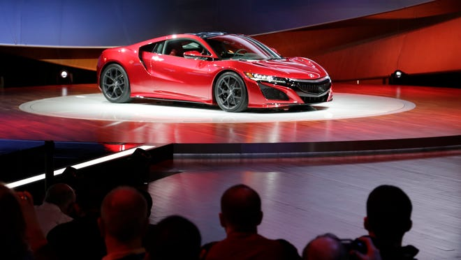 Acura rolled out their new NSX supercar at the 2015 North American International Auto Show. The 2017 model will be available to order in February.