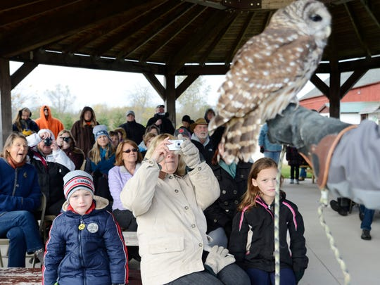 FILE - Owl Fest at Woodland Dunes in Two Rivers.