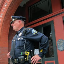 Vergennes Police Chief George Merkel, president of the Vermont Police Association, praised Tuesday's defeat of marijuana legalization in Vermont.
