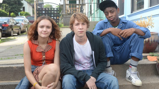 Olivia Cooke, Thomas Mann and RJ Cyler are the title stars of 'Me and Earl and the Dying Girl.'