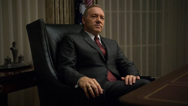 """Kevin Spacey in Season 3 of Netflix's """"House of Cards."""""""