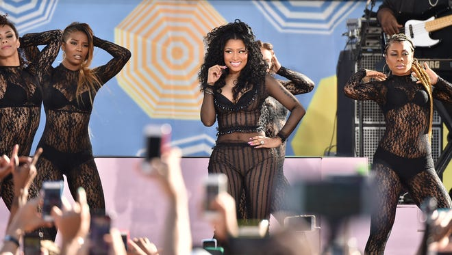 Nicki Minaj on Good Morning America, Friday, July 24.