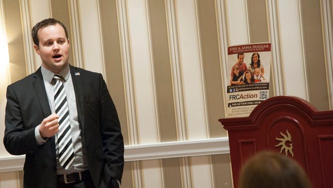 Josh Duggar at annual Conservative Political Action Conference on February 28, 2015, in National Harbor, Maryland.