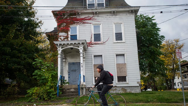 Community members are fighting to keep the Sturtevant House at 47 North St. in Binghamton off the demolition list of the Broome County Land Bank.