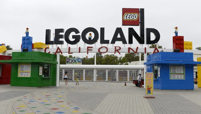Legoland's California theme park is shown in this file photo. A proposal to bring a similar theme park to Haverstraw has been dropped by the town board, but is now planned for Goshen, Orange County