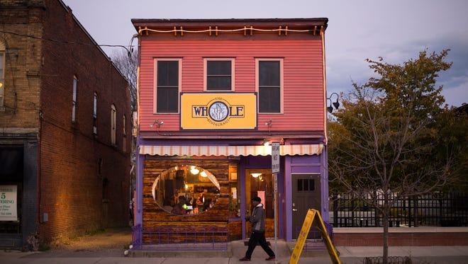 Whole in the Wall is located at 43 S. Washington St. in Binghamton.