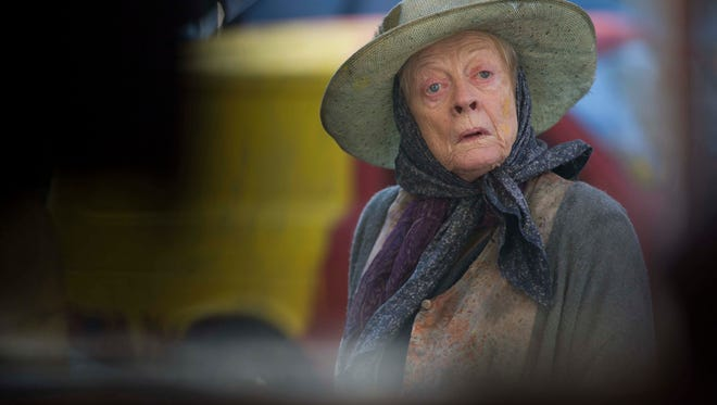 """Maggie Smith in """"The Lady in the Van."""""""