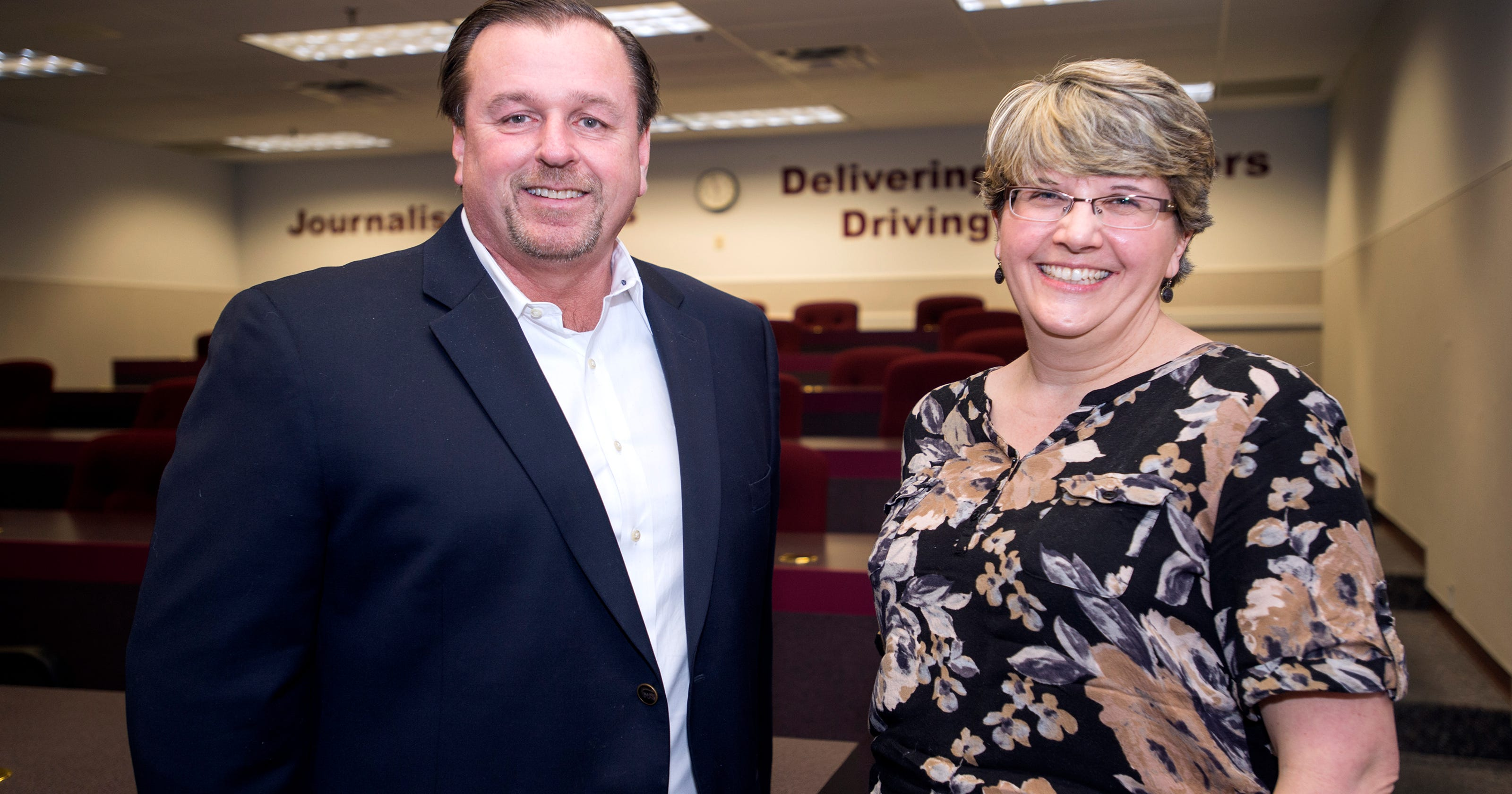 Gannett newspaper employees honored