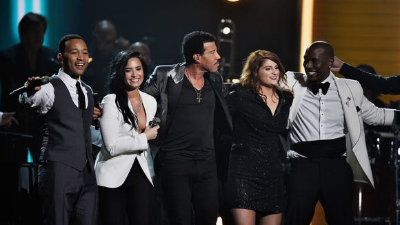 John Legend, Demi Lovato, Lionel Richie, Meghan Trainor