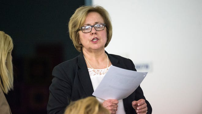 Binghamton Superintendent of Schools Marion Martinez