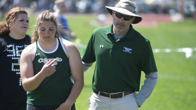 CSU track and field coach Brian Bedard has been named the USTFCCA Mountain Region women's indoor Coach of the Year.