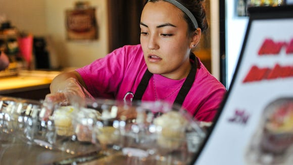 Noemi Padilla, Kitchen Manager at Sophi P Cakes.