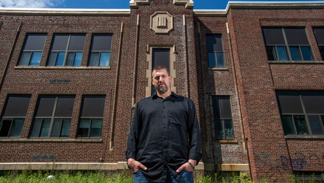 "Horror author Kevin Lucia penned ""A Night at Old Webb,"" a novella about an abandoned school that was inspired by the now-abandoned former Chenango Forks High School."