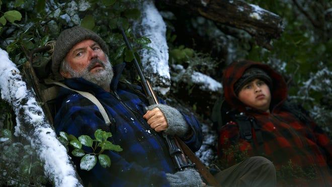 """Sam Neill, left, and Julian Dennison in """"Hunt for the Wilderpeople."""""""