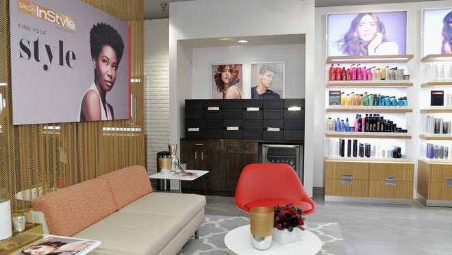 A new Salon by InStyle at JCPenney in Los Angeles on July 16, 2015.