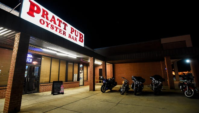 The Montgomery Regulators Motorcycle Club hosted a fundraiser for Aaron Cody Smith on Saturday, Jun. 25, 2016 at Pratt Pub & Oyster Bar in Prattville, Ala. Smith, a 23-year-old Montgomery police officer, was charged with murder for the Feb. 25 fatal shooting of Gregory Gunn.