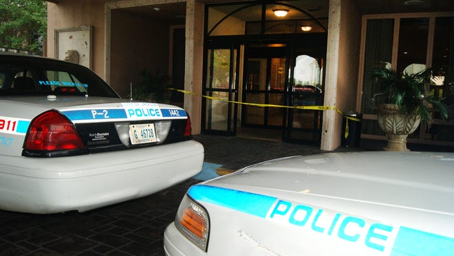 The ATM was stolen from the lobby of the Regency Hotel in Jackson, Miss.