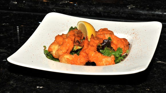 The Asian Cajun shrimp is pictured at Tao Asian Cuisine, which recently opened in the Ambassador Town Center.
