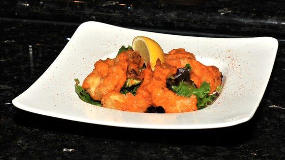 The Asian Cajun shrimp is pictured at Tao Asian Cuisine,