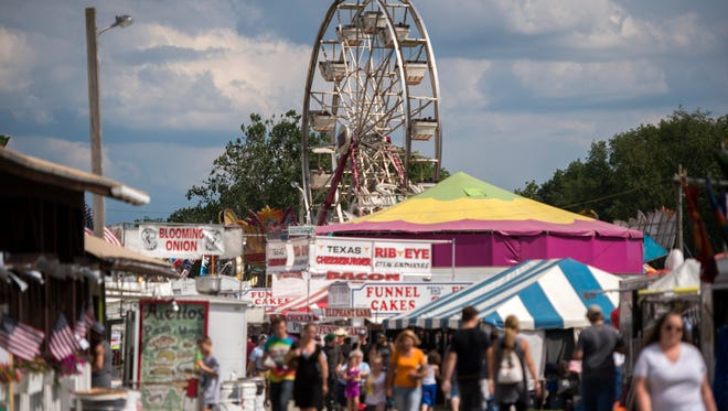 The 142nd Annual Broome County Fair continues through the weekend in Whitney Point.