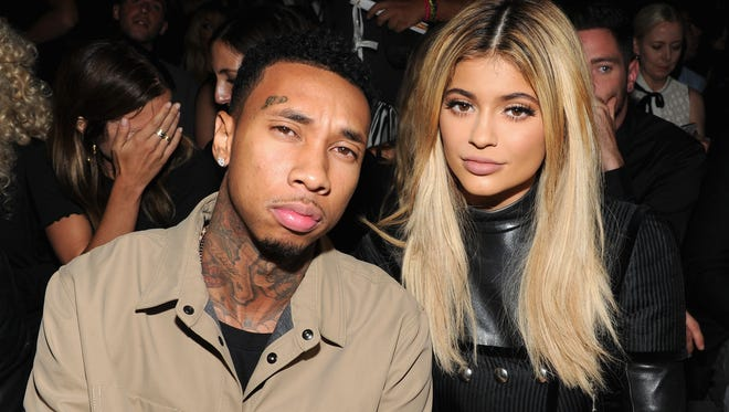 Kylie Jenner and Tyga on Sept. 12, 2015, in New York.