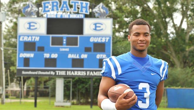 Erath High running back Elijah Mitchell is striving to reach 2,000-yard mark this season after three 1,000-yard seasons.