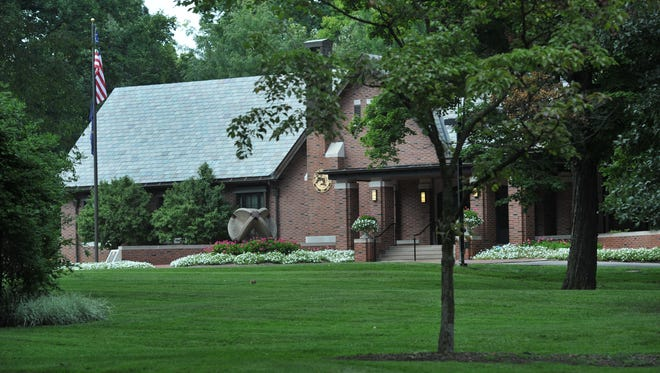 Indiana Governor's Residence at 4750 N. Meridian Street, Wednesday August 27, 2014.