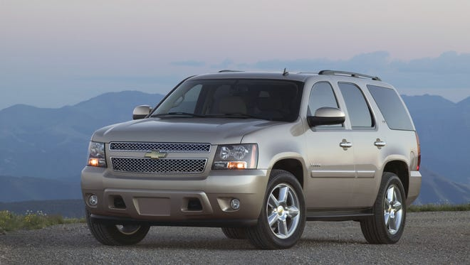 2011 Chevrolet Tahoe LTZ, one of 980,000 trucks and SUVs covered in the next phase of the Takata air bag inflator recall. General Motors has asked the National Highway Traffic Safety Administration to delay that phase of the recall from Dec. 31, 2016 to Dec. 31, 2017.