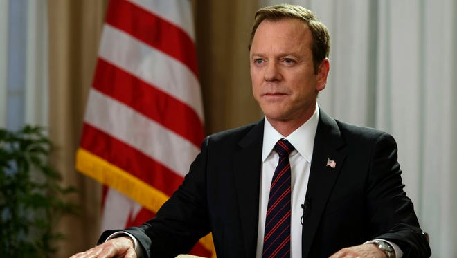 'Designated Survivor' starring Kiefer Sutherland is one of the high-profile new shows this fall TV season.