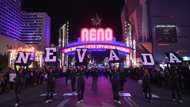 "Wolf Pack basketball will hold an ""Arch Madness"" event in downtown Reno on Oct. 21."