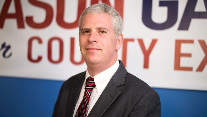 Broome County Executive-elect Jason Garnar.