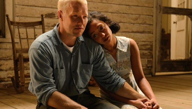 "Joel Edgerton and Ruth Negga play the real-life couple whose marriage, illegal under Virginia state law, goes all the way to the U.S. Supreme Court in ""Loving."""
