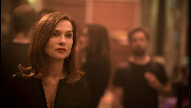 """Isabelle Huppert as Michele in the film """"Elle."""""""